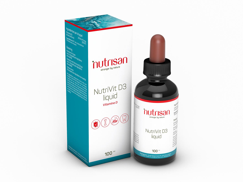 Nutri Vit D3 liquid (100 ml)